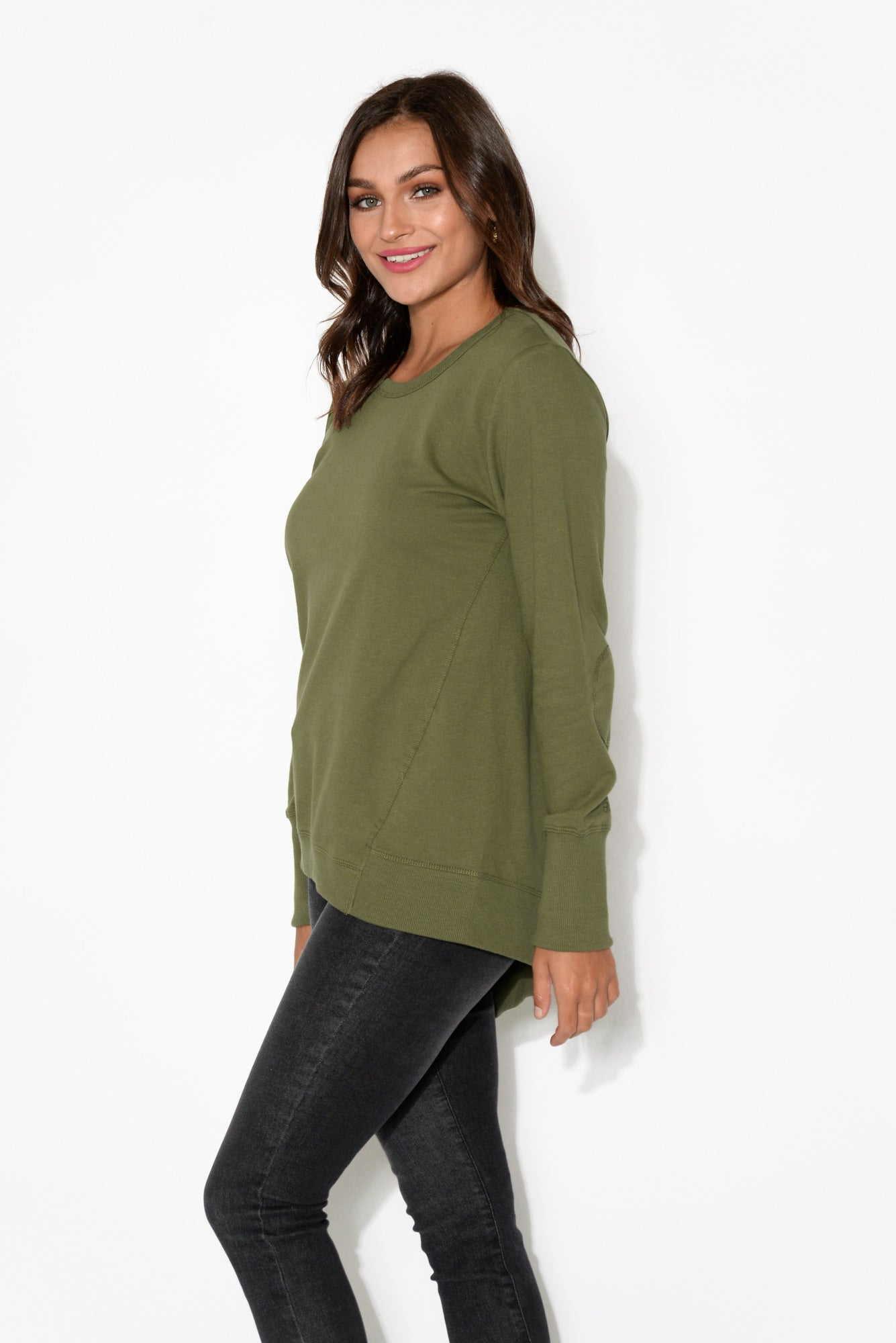 Dolly Khaki Jumper