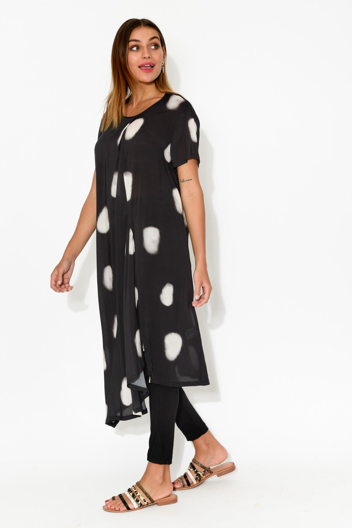 Fall Black Spot Tunic