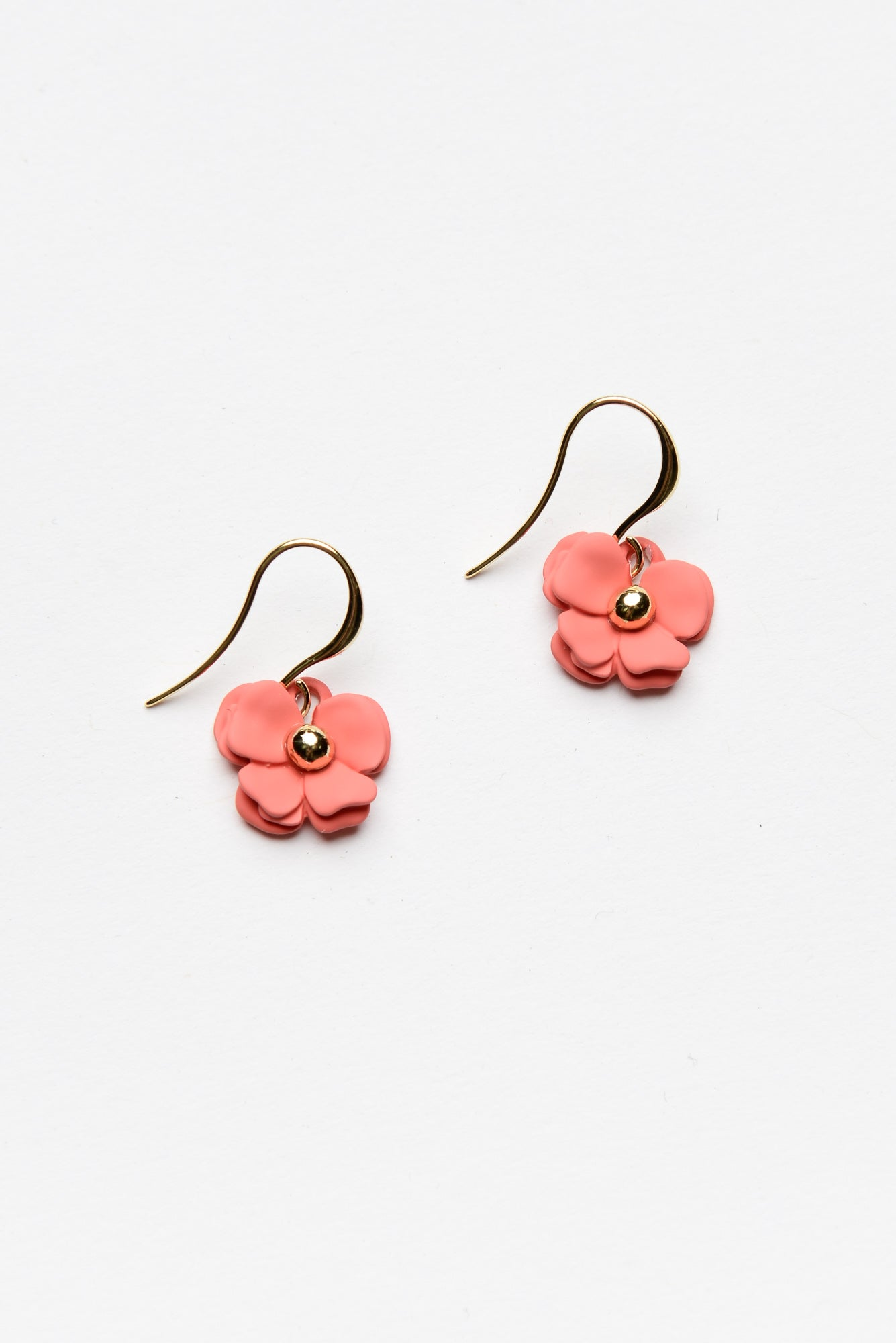 Flora Pink Earring - Blue Bungalow