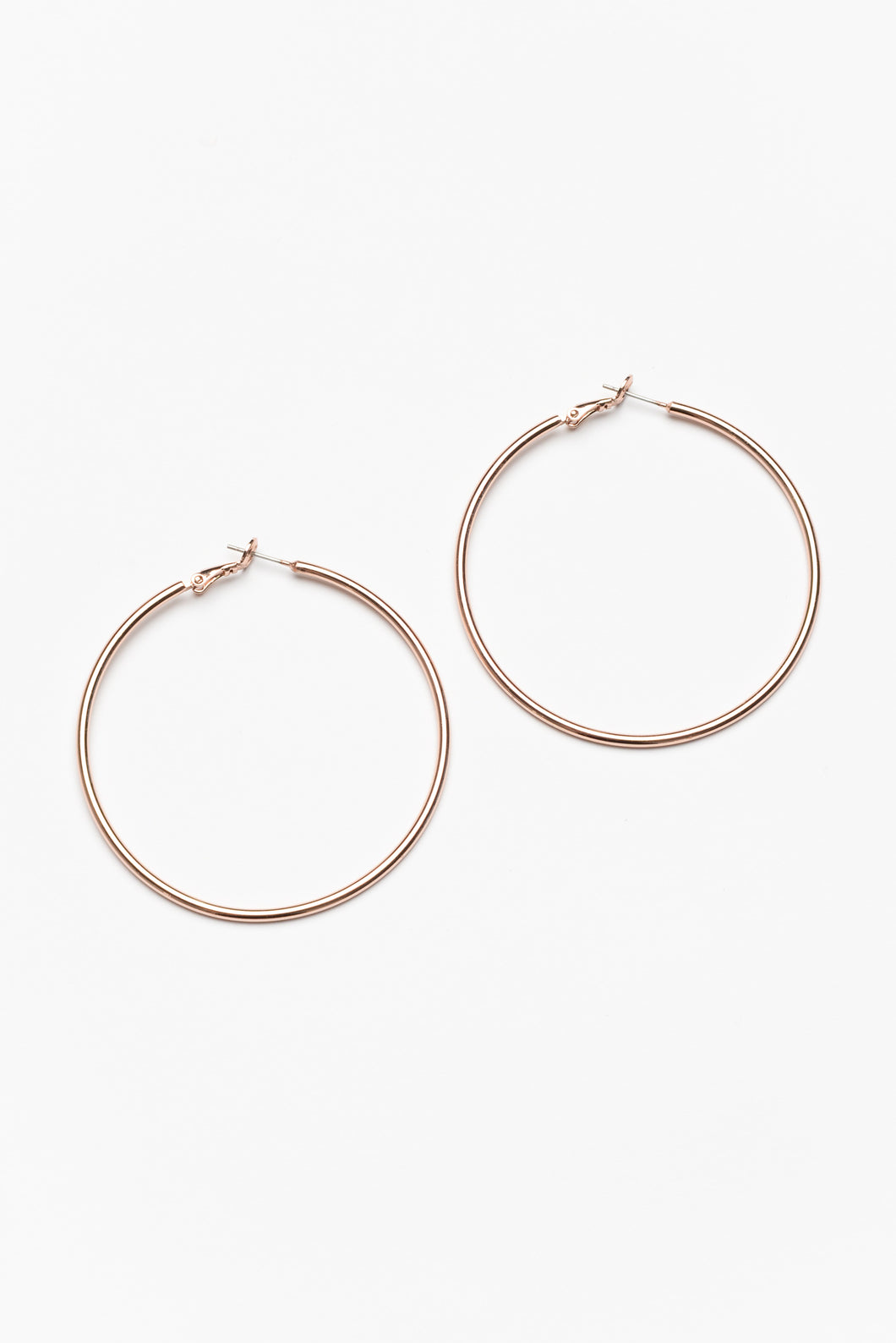 Florence Extra Large Rose Gold Hoop Earring