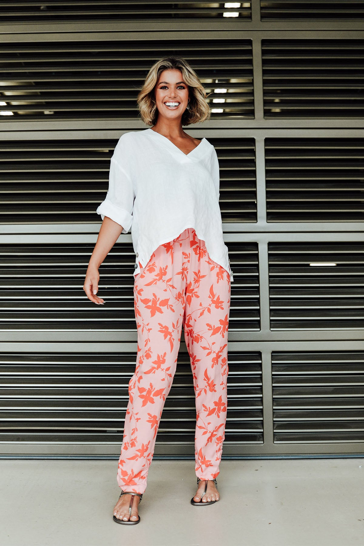 Foster Red Leaf Pant