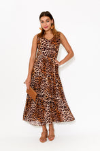 Frankie Animal Tiered Dress