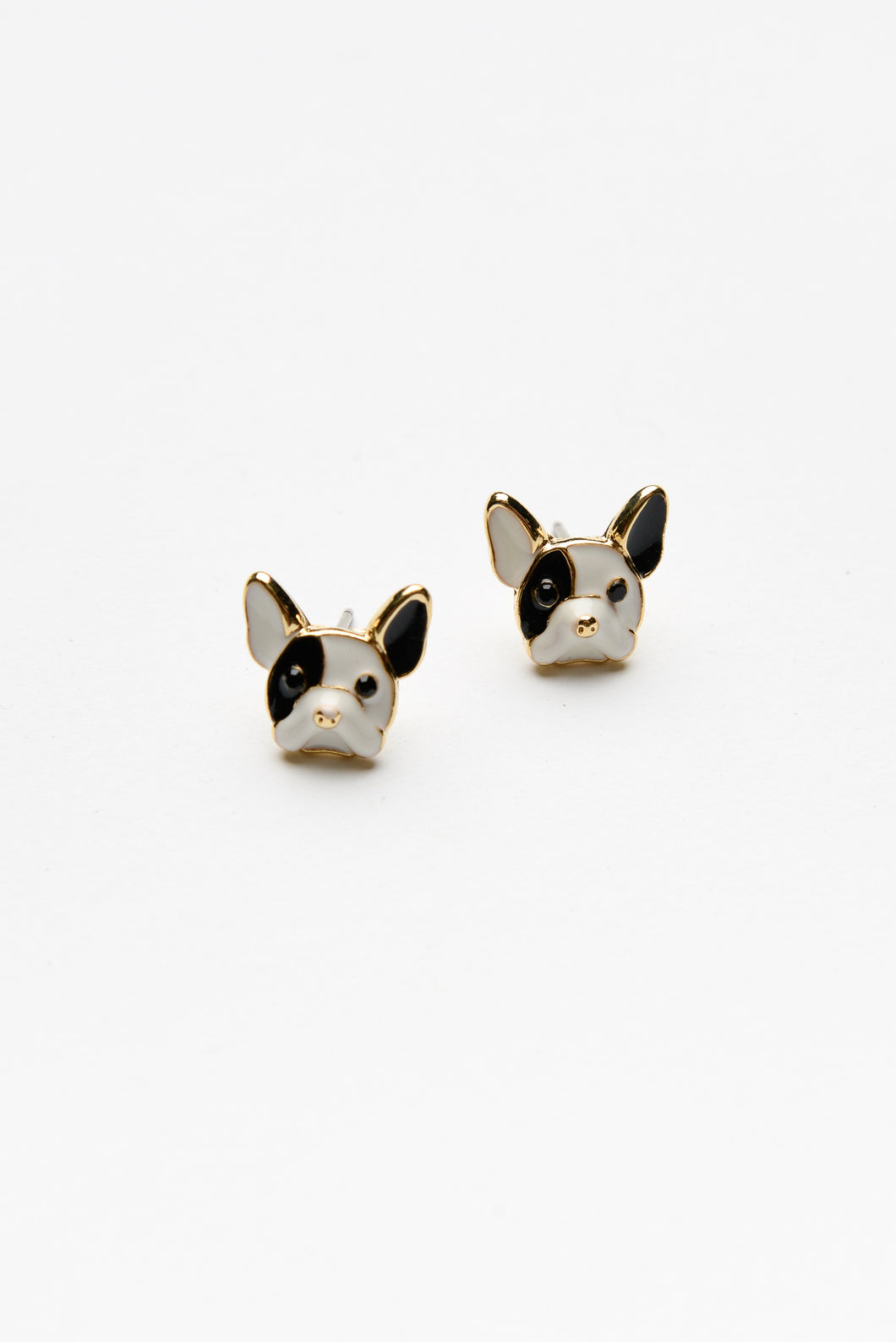 Frankie French Bulldog Earring - Blue Bungalow