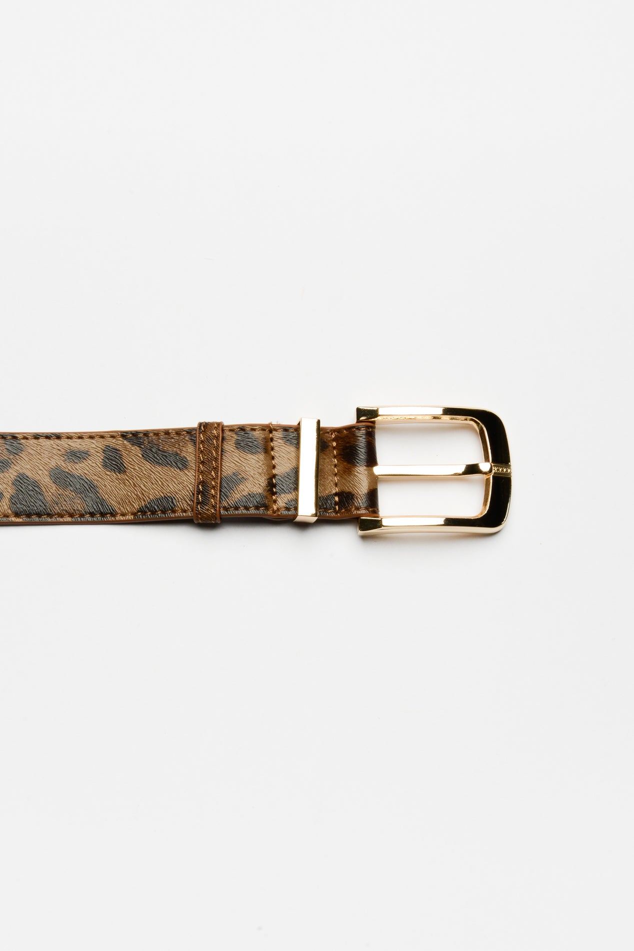 Gale Leopard Print Belt - Blue Bungalow