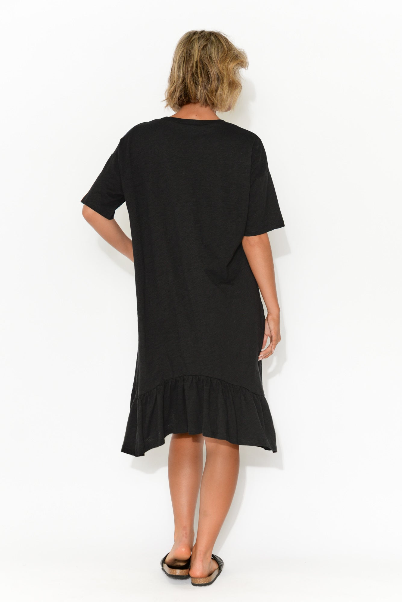 Goldie Black Frill Dress