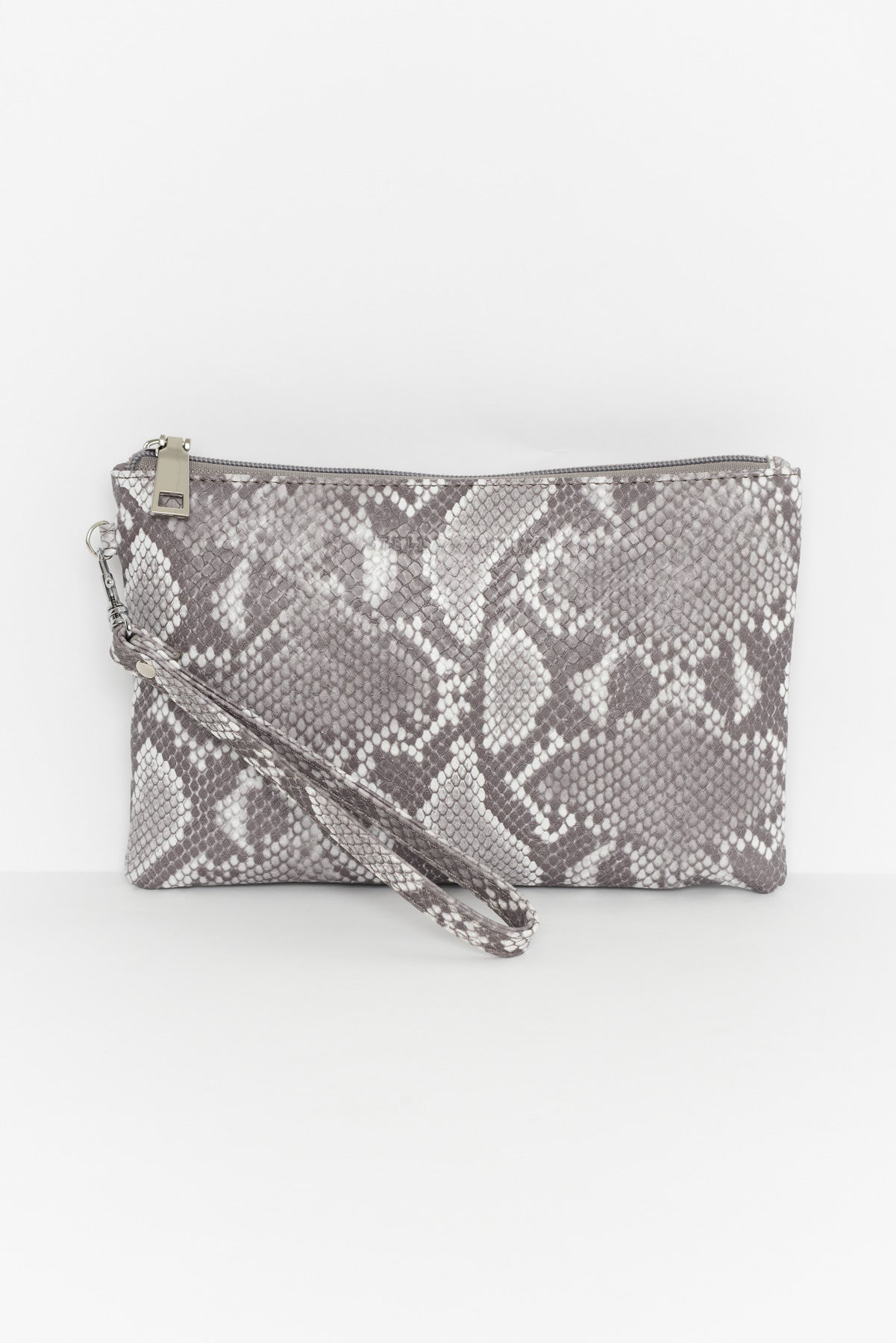 Grey Snake Lulu Pouch - Blue Bungalow
