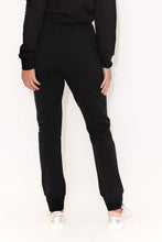 Heidi Black Cotton Lounge Pant