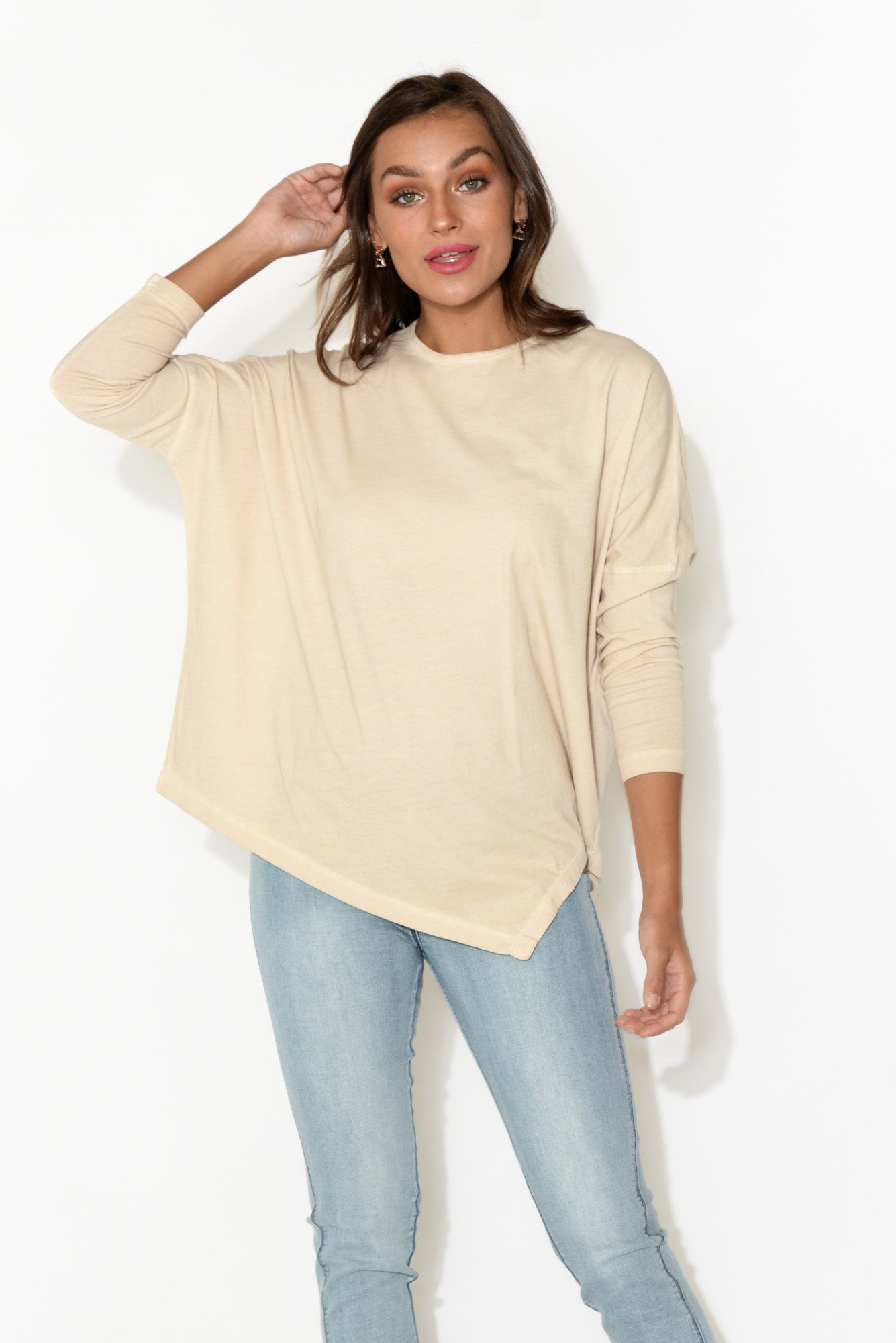 Hendricks Ivory Long Sleeve Top