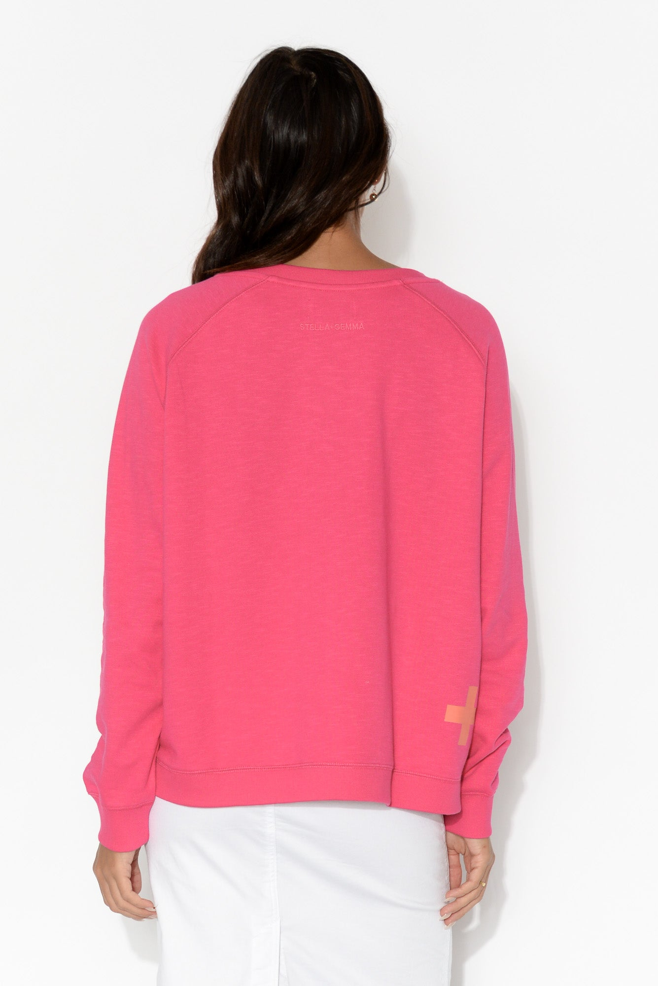 Hot Pink Star Jumper