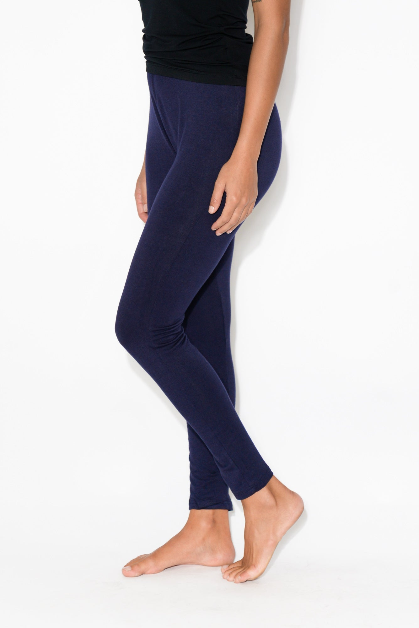 Jane Navy Stretch Legging