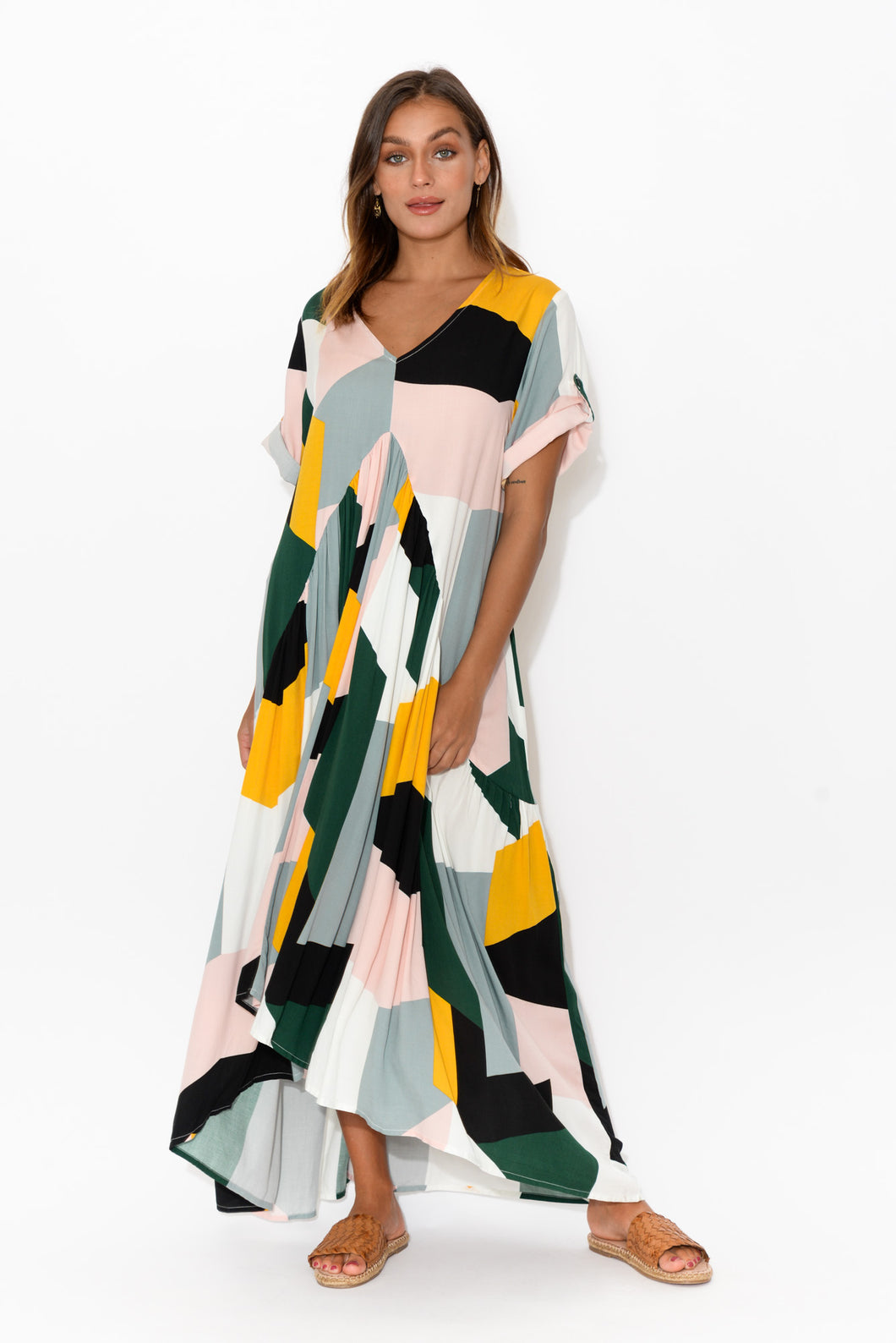 abstract  geometrical  Print_abstract Event  occasion  wedding  Occasion_event dress