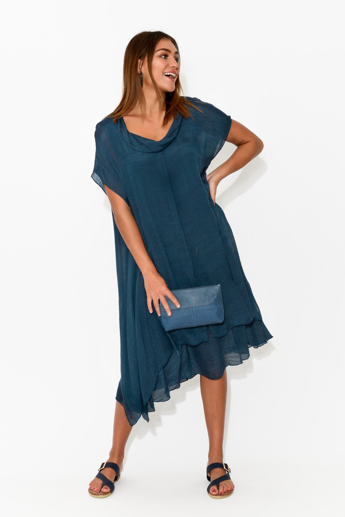 Keira Navy Layers Dress
