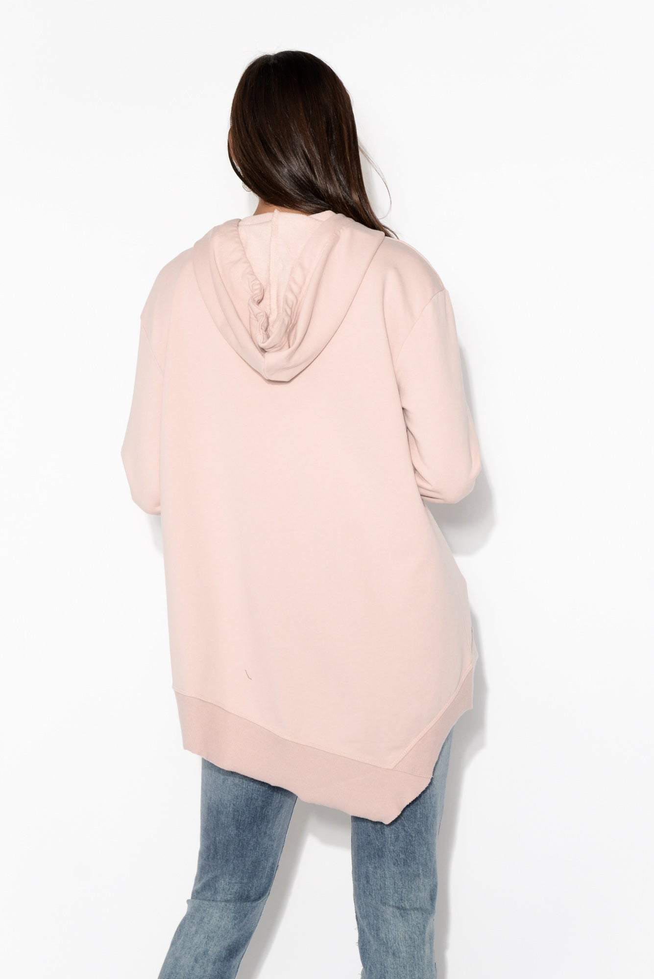 Kendall Pink Cotton Hoodie