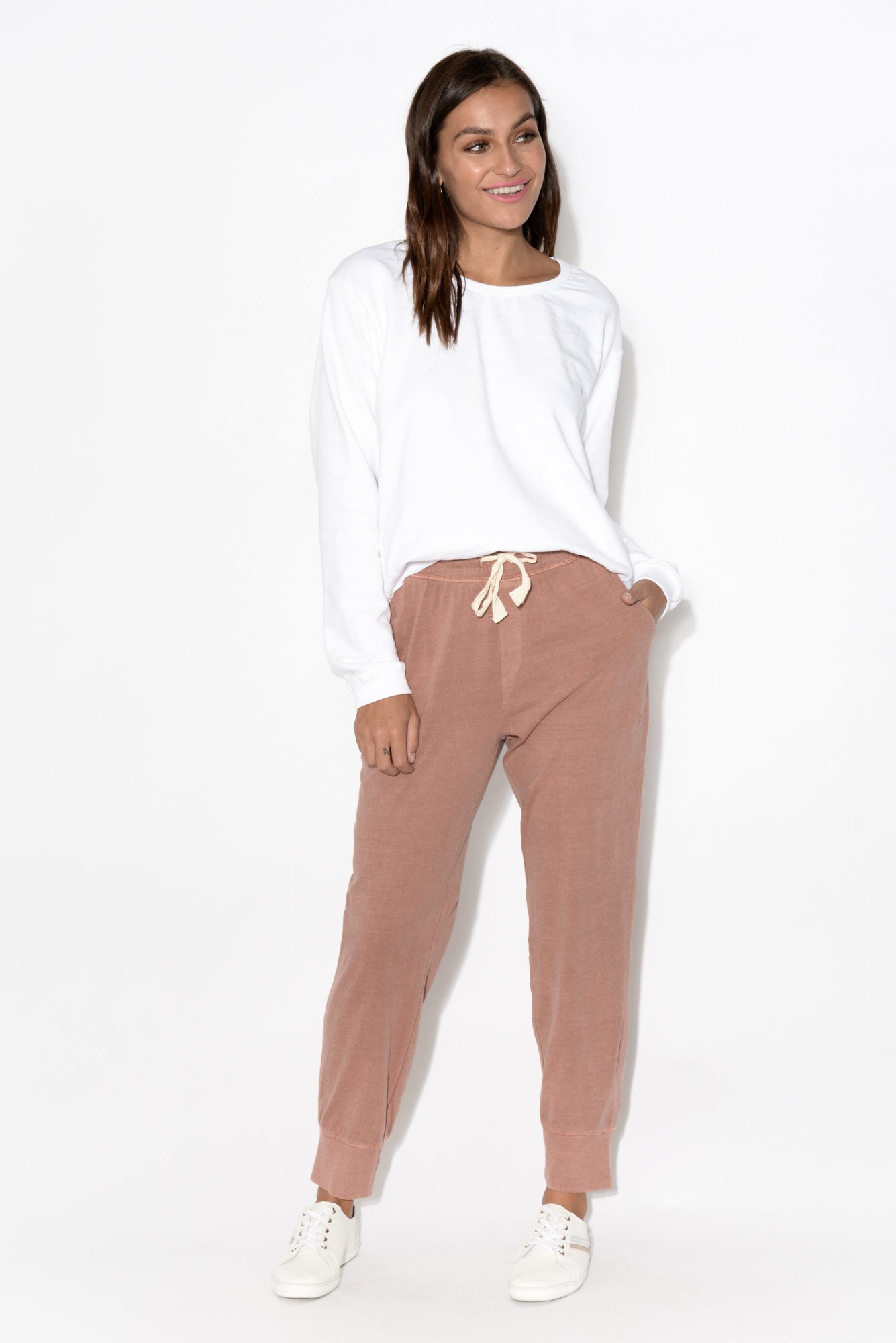 Lucinda White Relaxed Jumper