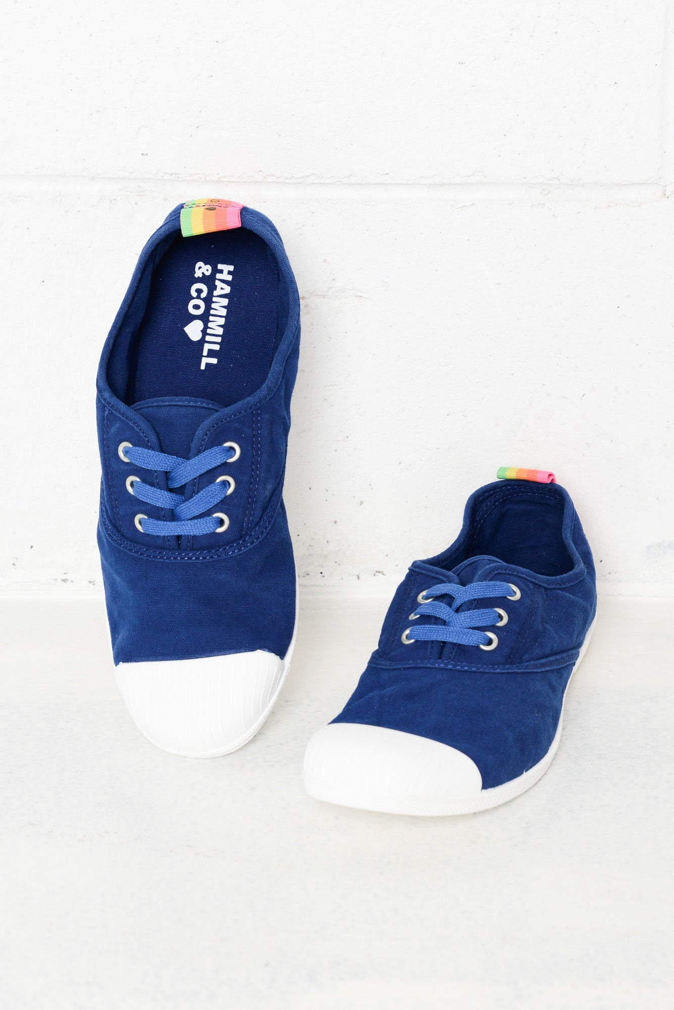 Bonn Cobalt Washed Canvas Sneaker