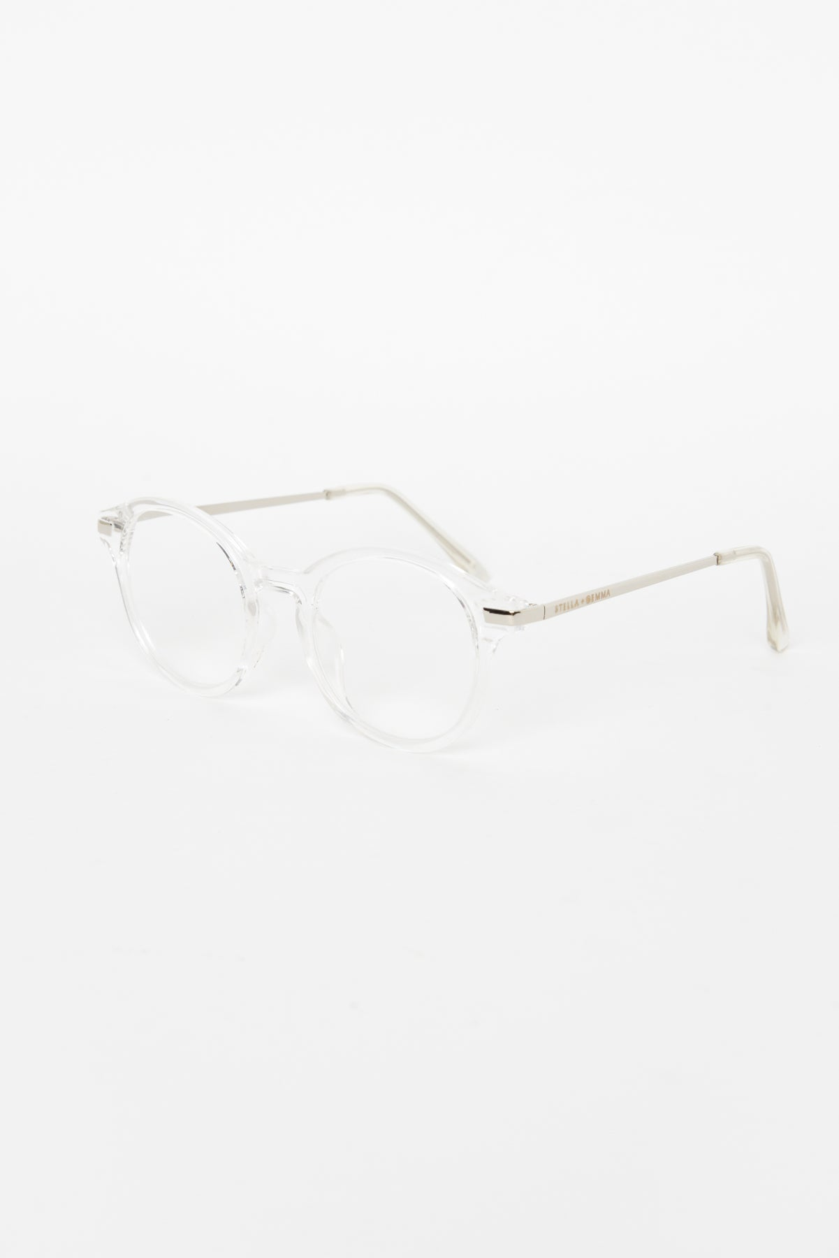Kelly Clear Reading Glasses - Blue Bungalow