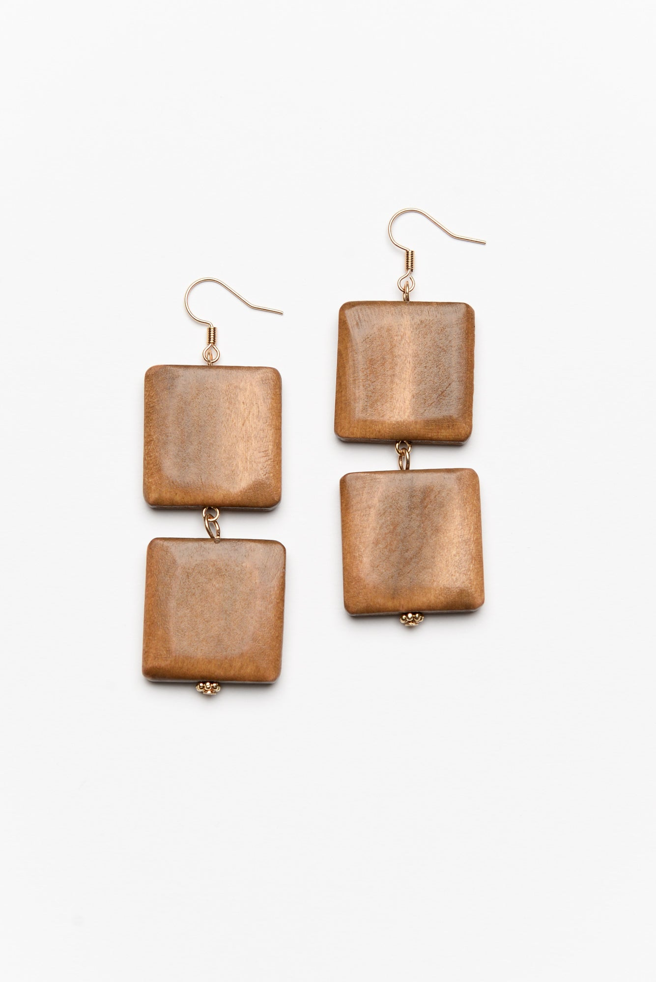 Maddox  Square Drop Earring