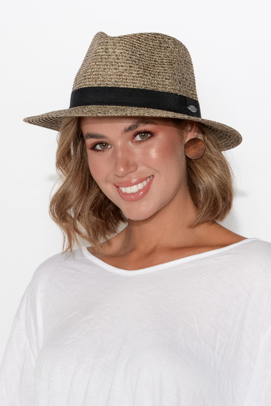 Mallorca Light Brown Travel Fedora