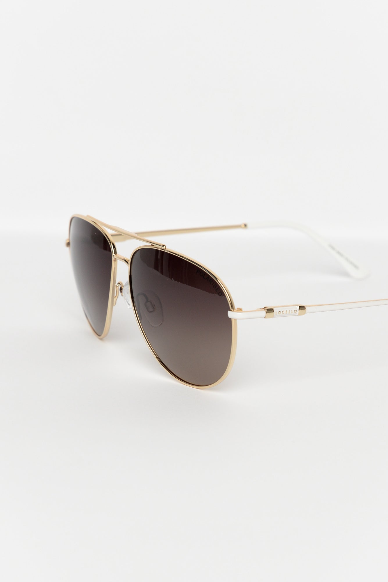 Mara Gold Aviator Sunglasses