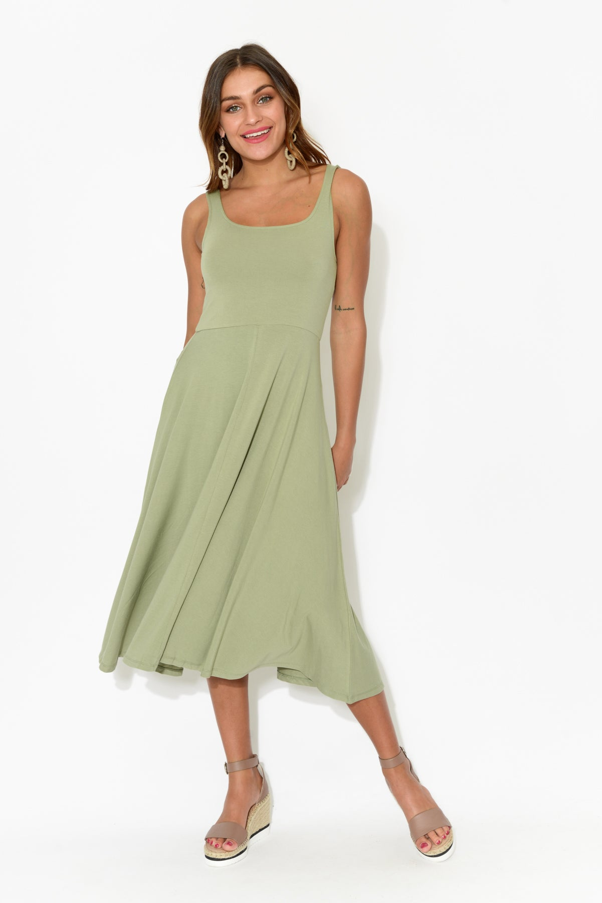 Melanie Sage Bamboo Dress