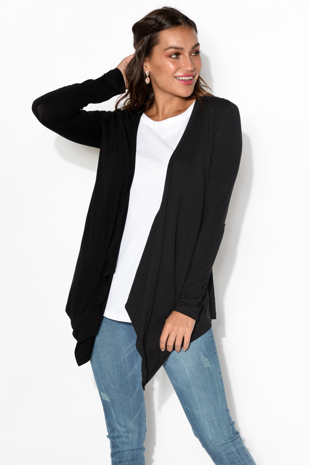 Melbourne Black Cardigan
