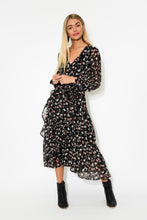 Nolita Black Floral Dress - Blue Bungalow