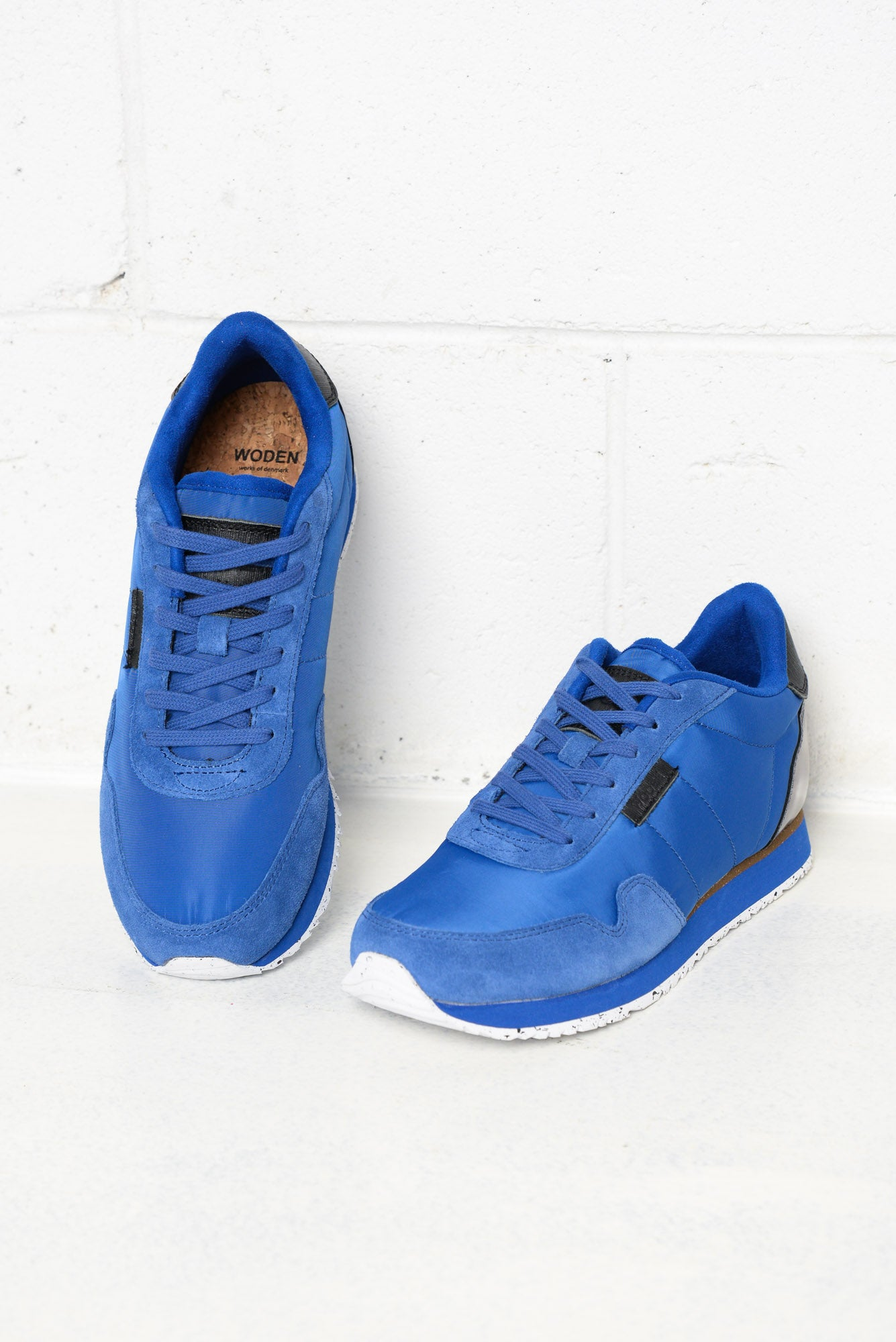 Nora Royal Blue Leather Sneaker