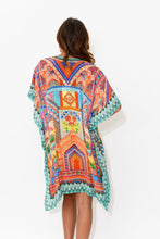 Orange Carnivale Silk Kaftan - Blue Bungalow