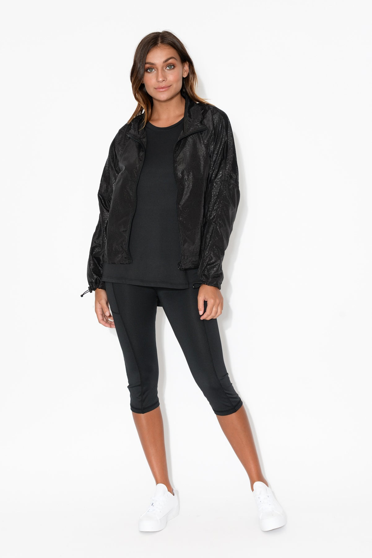 Pace Black Pocket Jacket