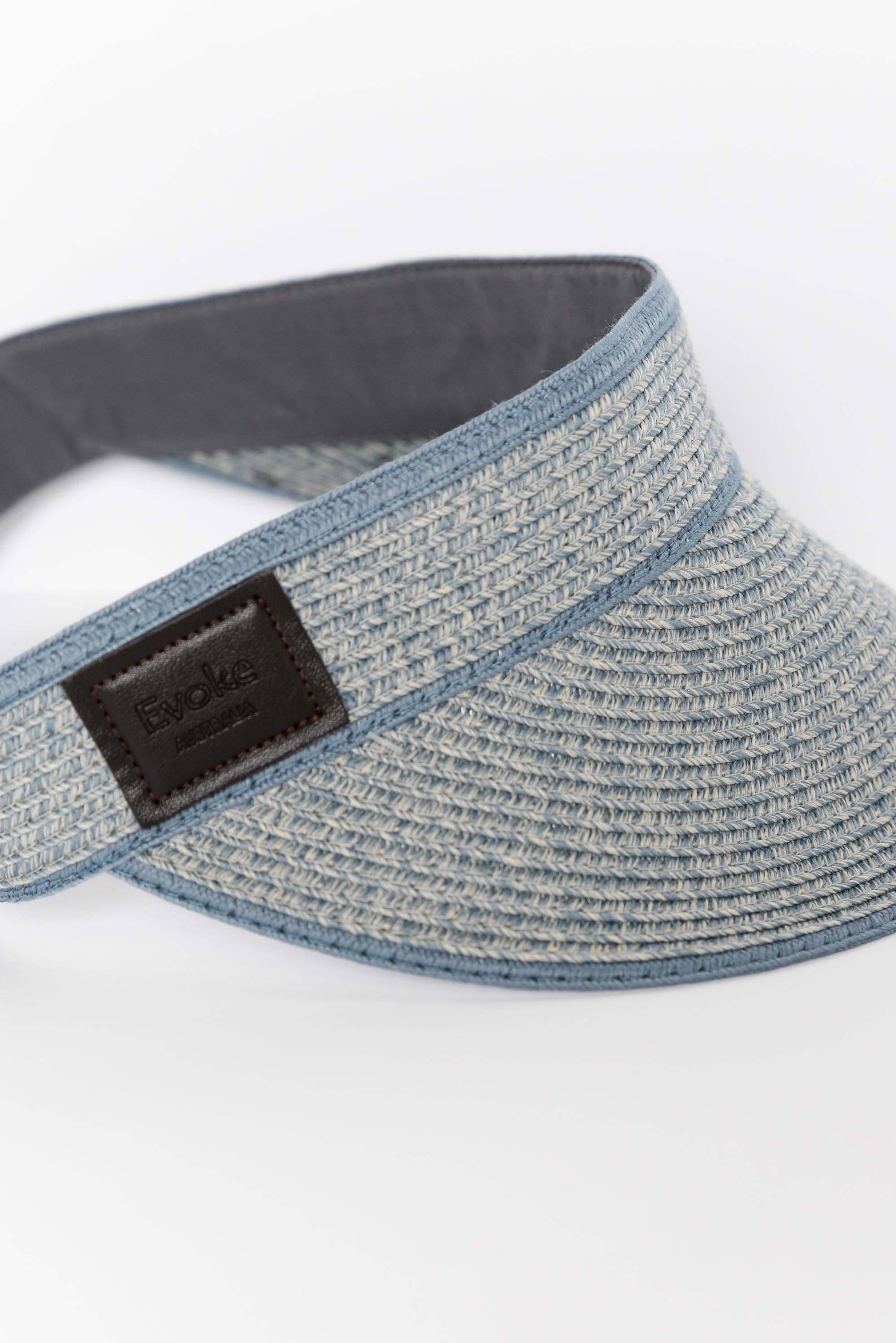 Pearl Light Blue Travel Visor
