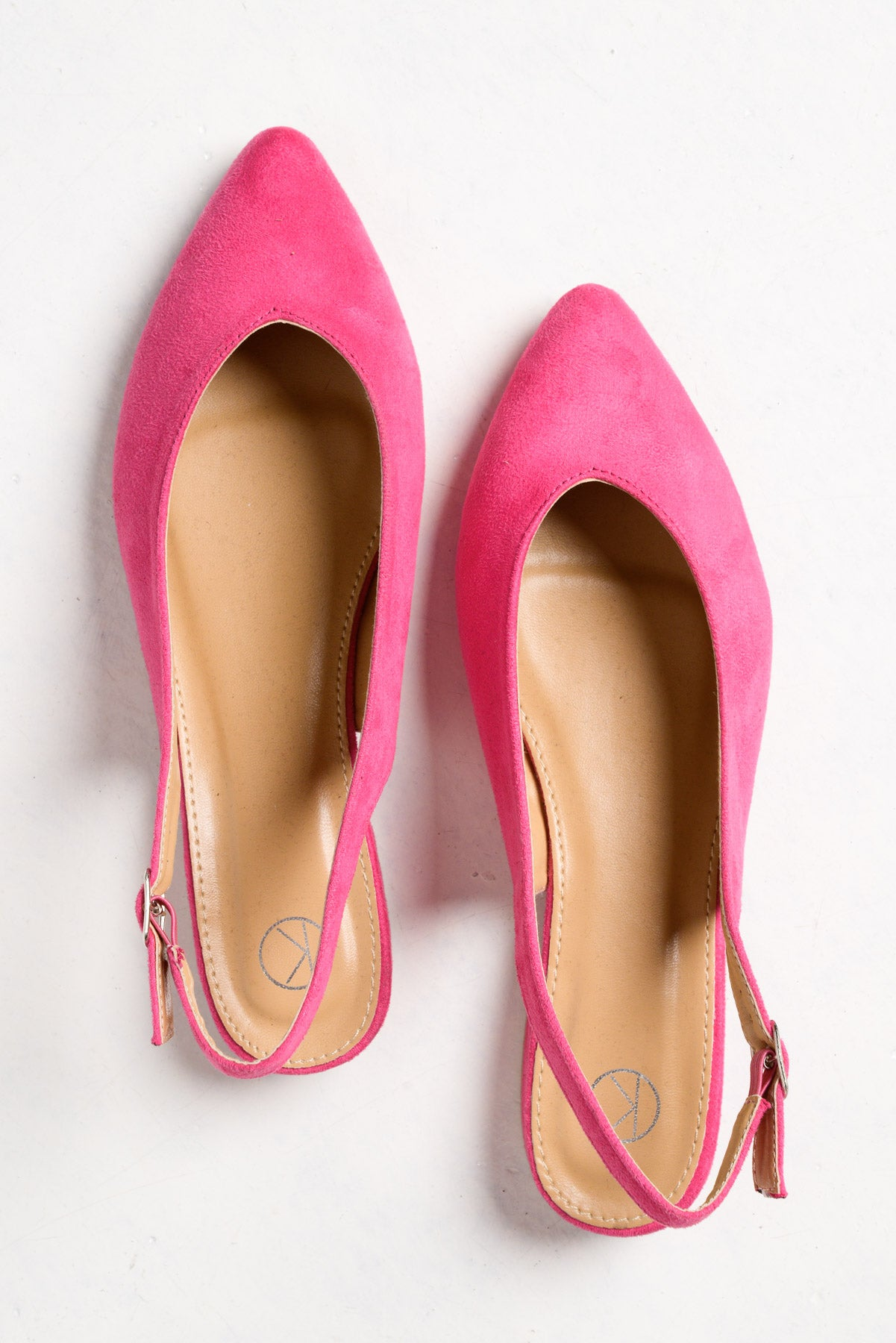 Pippa Pink Slingback Shoe - Blue Bungalow