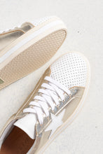 Pixie Star Gold Leather Sneaker