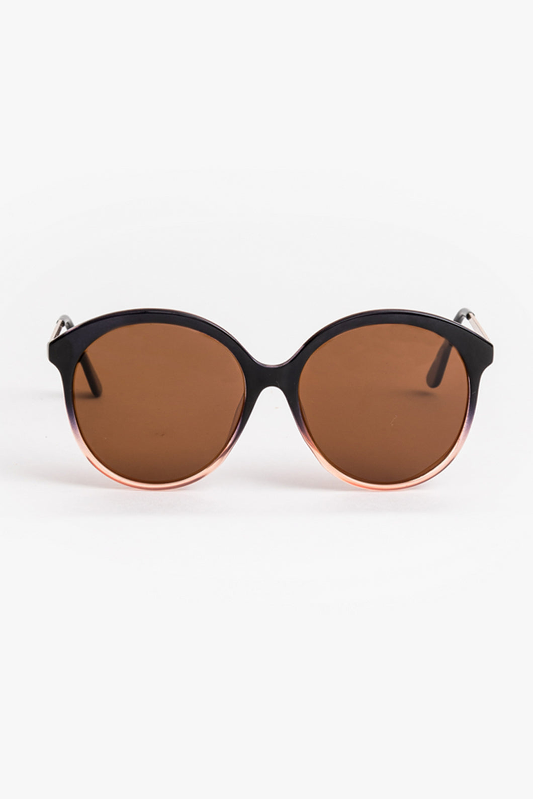 Poppy Black and Pink Sunglasses
