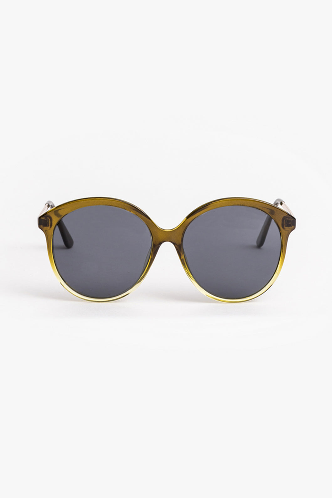 Poppy Olive Sunglasses
