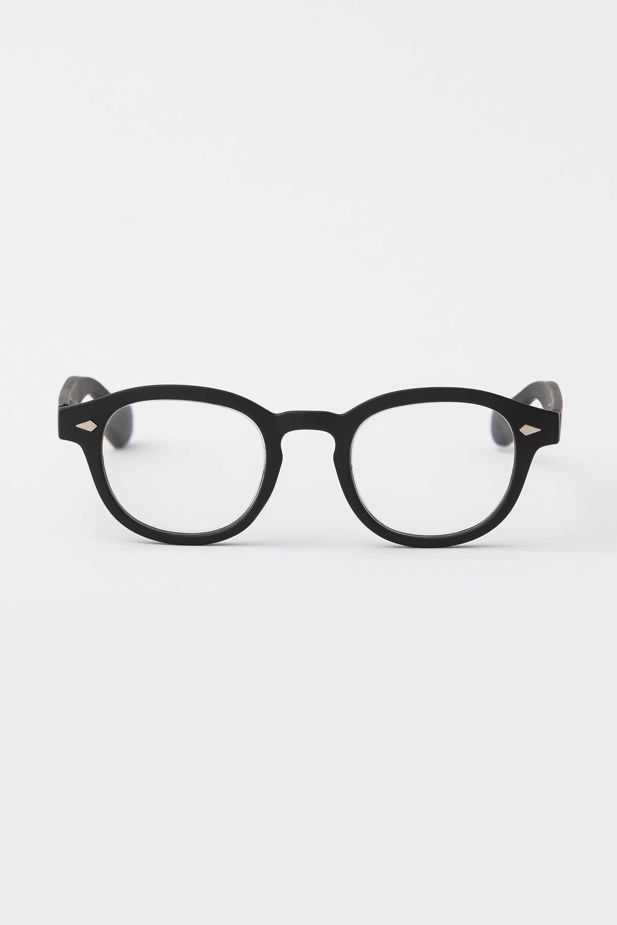 Rocco Matte Black Reading Glasses