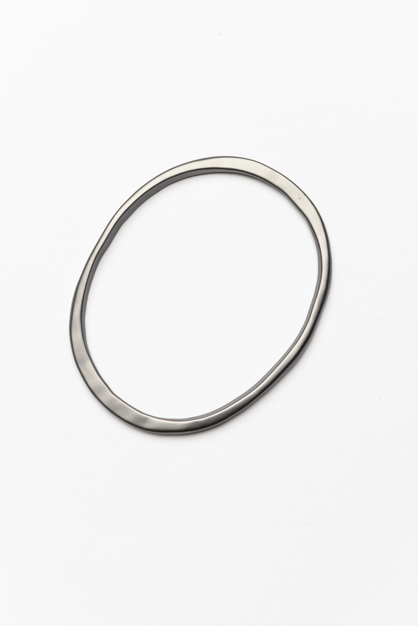 Rosie Black Metal Bangle