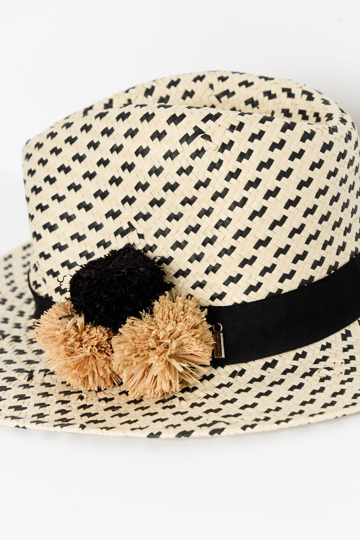 Salt 'N Pepper Woven Hat - Blue Bungalow