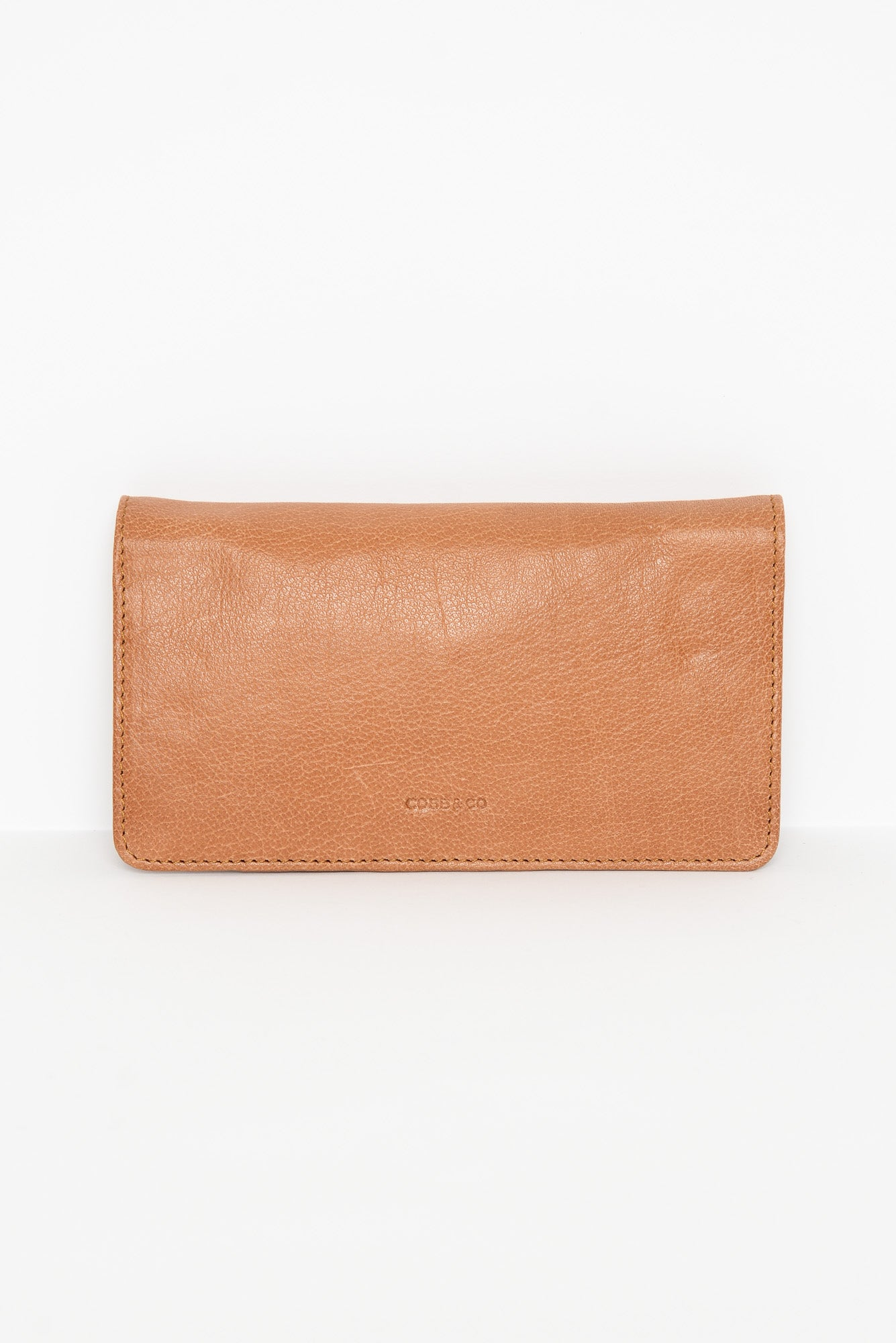 Stirling Tan Leather Phone Wallet