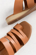 Surrender Tan Leather Slide