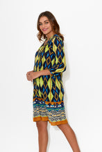 Tamara Jungle Crinkle Cotton Dress