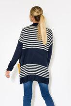 Transit Navy Stripe Cardigan - Blue Bungalow