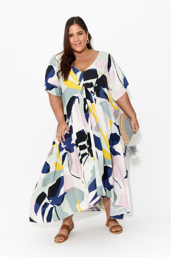 Tropical Peak Maxi Dress