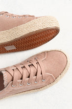 Ultra Blush Washed Canvas Sneaker