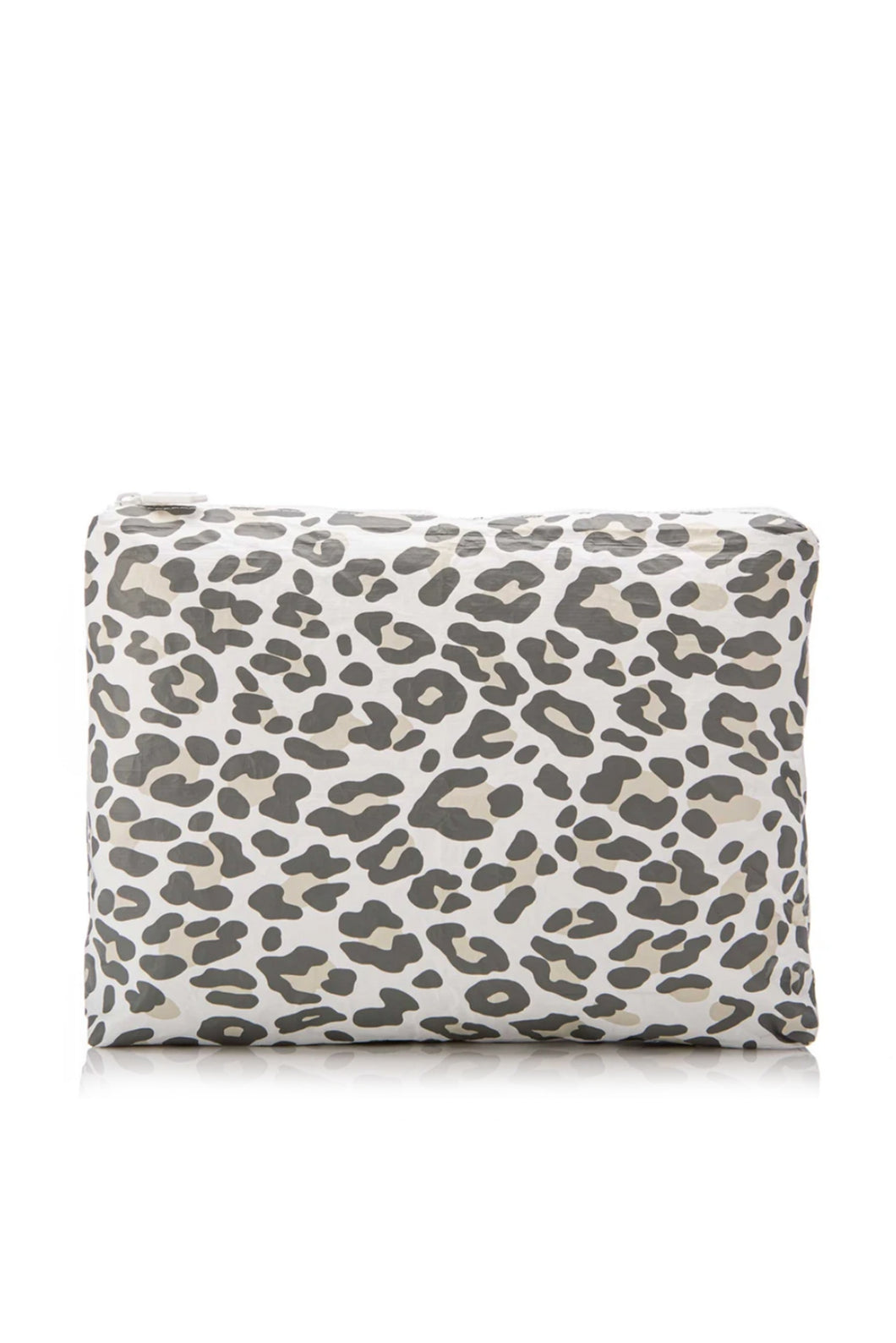 Snow Leopard Splash Proof Medium Pouch