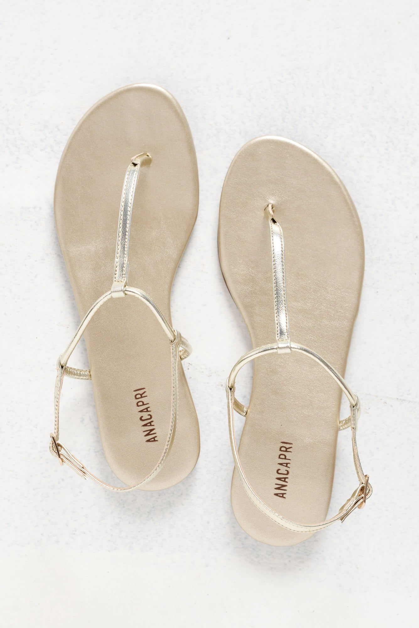 Valor Gold Thong Sandal