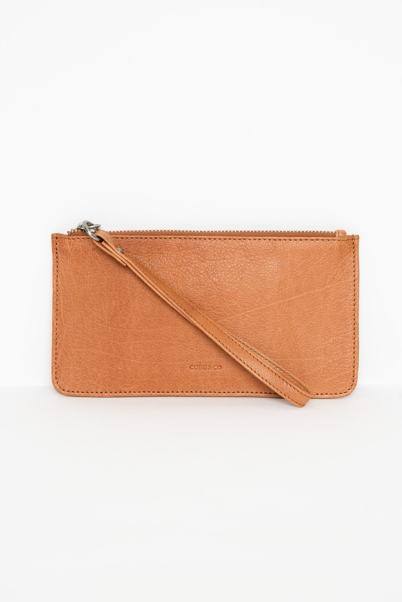 Vaucluse Tan Leather Medium Pouch