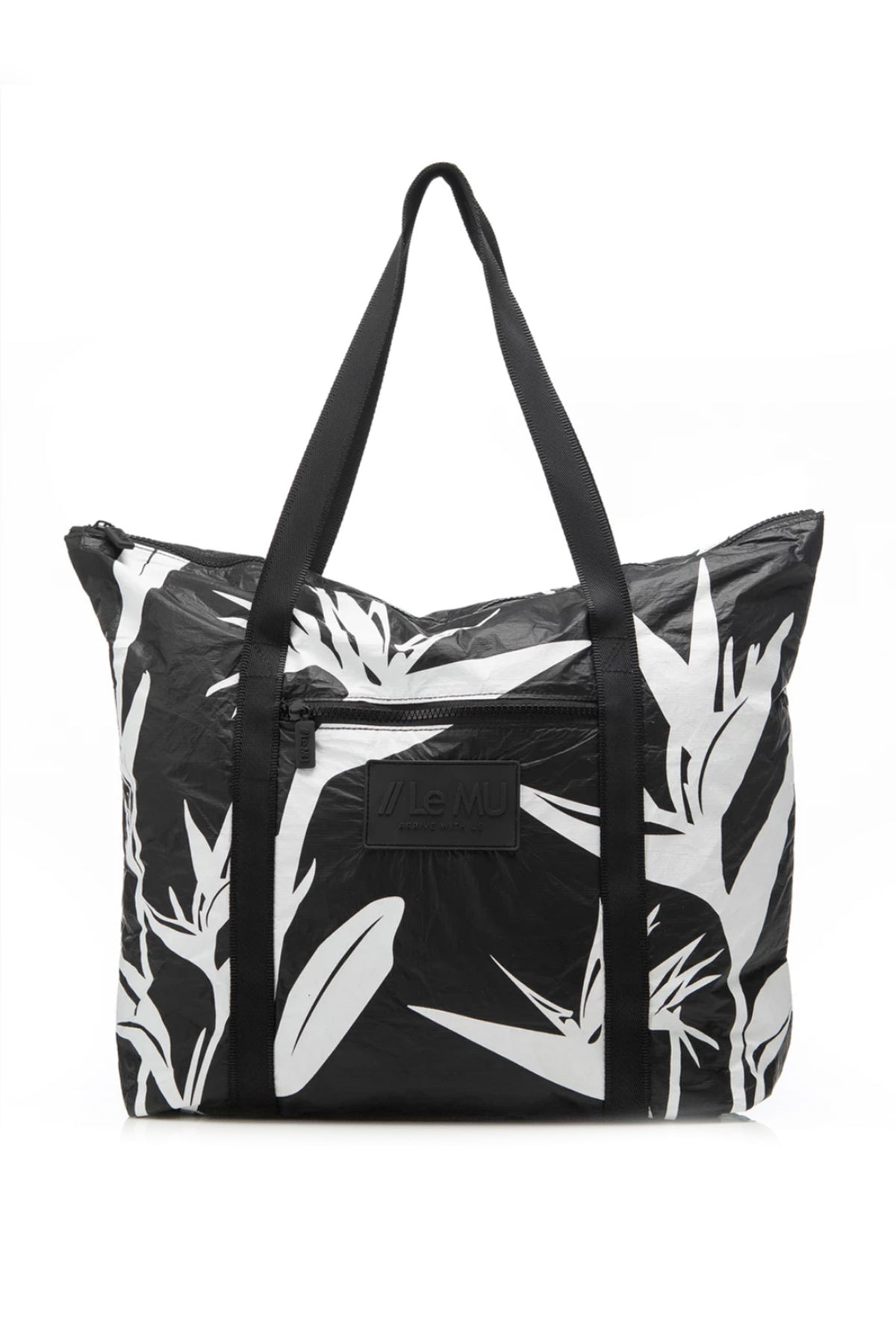 White Paradise Splash Proof Tote Bag