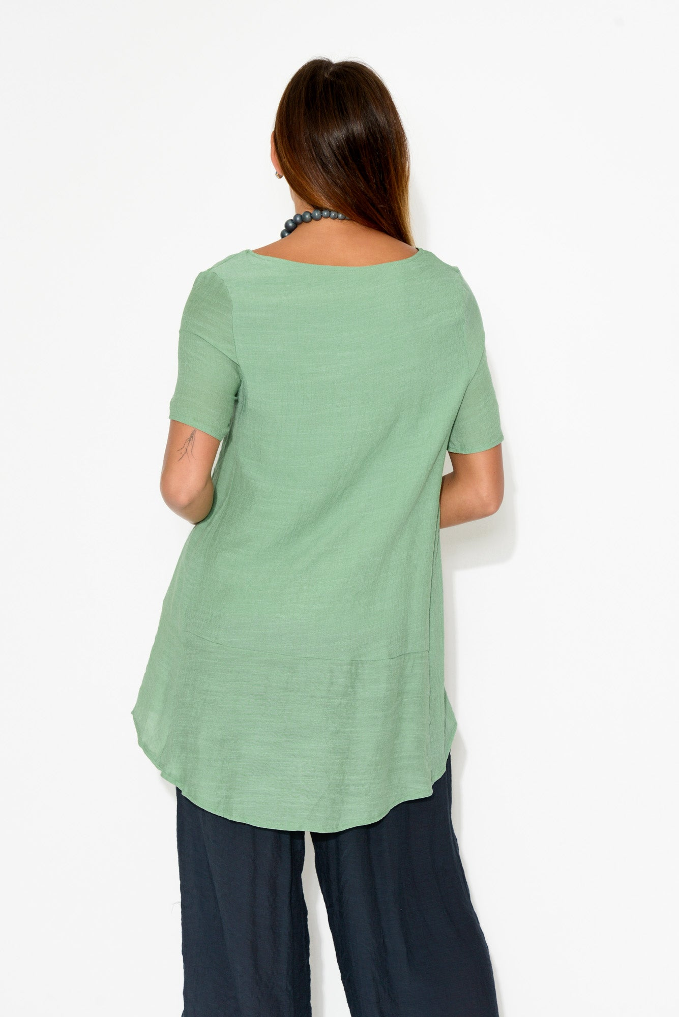 Yana Sage Layer Top