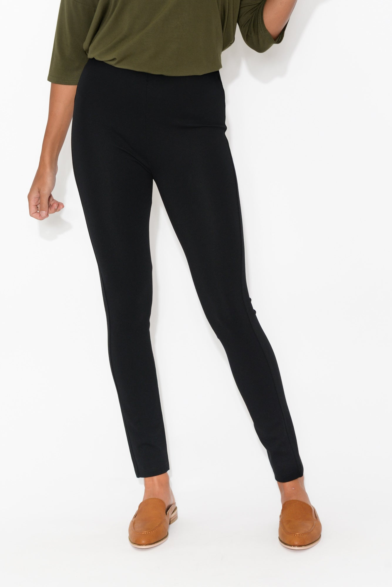 Yvonne Black Winter Pant