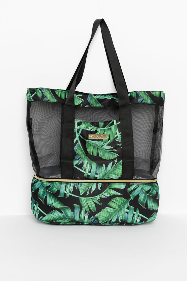 Green Zanzibar Beach Cooler Bag